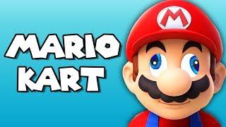 NO STEERING CHALLENGE! | Mario Kart 8 Deluxe (ft. Nogla, MiniLadd, BasicallyIDoWrk, Ohm, & Smii7y)