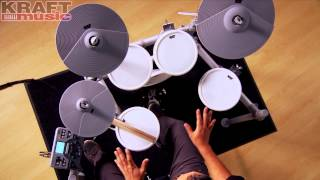 Kraft Music - KAT Percussion KT2 Digital Drum Set Demo with Mark Moralez