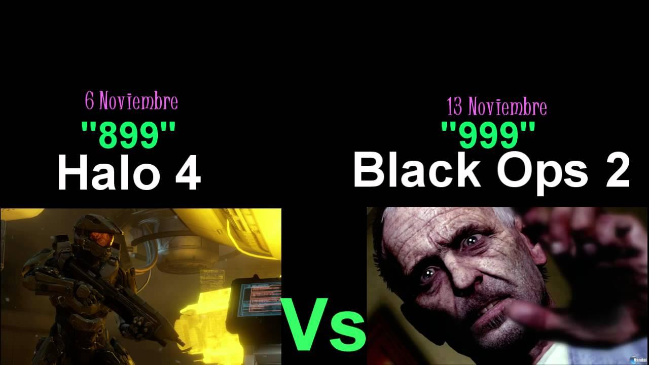 Halo 4 vs cod bo2