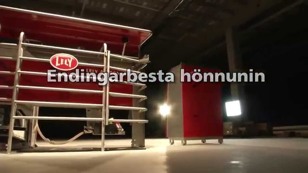 Lely Astronaut A4 - Milking robot highlights (Icelandic)