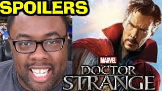 DOCTOR STRANGE SPOILERS – Movie Review