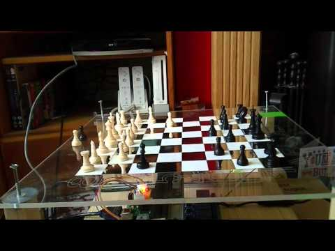 Raspberry Pi Robotic Chess (Testing)