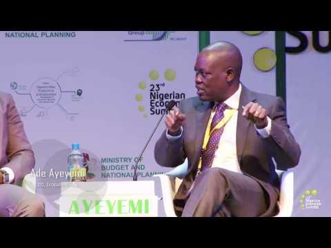 NES 23  Ade Ayeyemi Plenary II