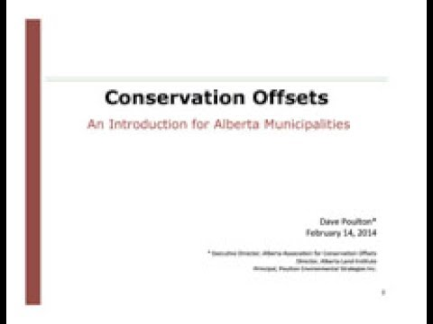 Conservation Offsets for Municipalities