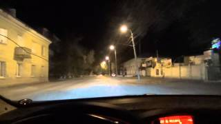 Советы новичкам,как правильно водить авто ночью
