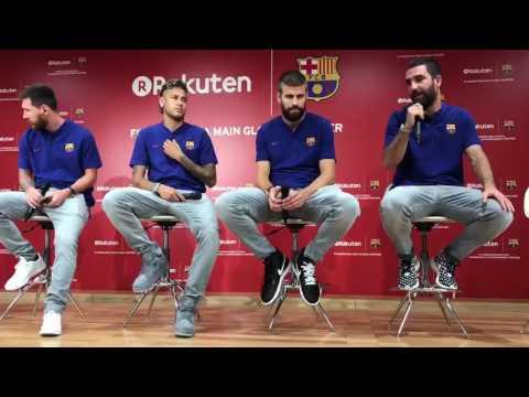 Barcelona Rakuten Presser - Arda Turan