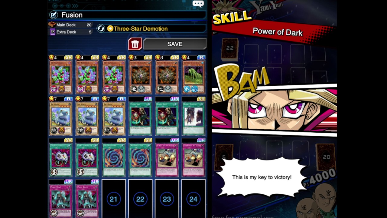 how to get fusion recovery duel links