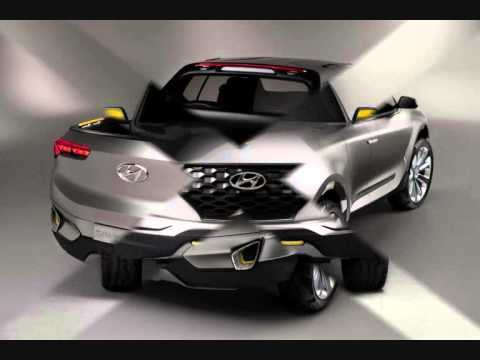 all new 2015 hyundai santa cruz crossover truck concept youtube. Black Bedroom Furniture Sets. Home Design Ideas