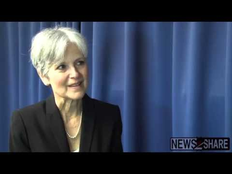 Jill Stein Discusses  Green New Deal  and her 2016 Presidential Campaign