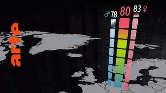 Lebenserwartung: Werden wir immer älter?   Data Science vs Fake   ARTE