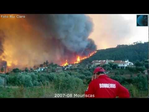 2007-08-19 a 21 Incêndio na Freguesia de Mouriscas