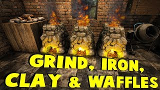 Grind, Iron, Clay & Waffle | 7 Days To Die - The Wait For Alpha 17 | Part 22