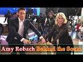Amy Robach Having Fun Behind the Camera || Amy Robach Behind the Scene