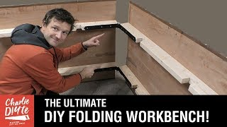 The ULTIMATE DIY Portable HINGED Folding Workbench: Upgrade video 4 of 5