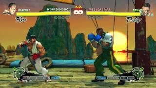 Video Street Fighter IV 4 Arcade Edition Intel HD Graphics 3000
