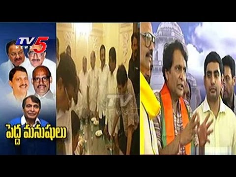 Suresh Prabhu Speaks With Media | Suresh Prabhu Files  Nomination For Rajya Sabha | TV5 News