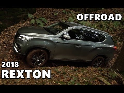2018 ssangyong rexton offroad action youtube. Black Bedroom Furniture Sets. Home Design Ideas