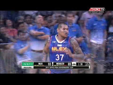 PBA Governors' Cup 2017 Highlights: NLEX vs Meralco August 13, 2017