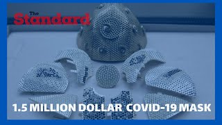 1.5 million dollar COVID-19 mask