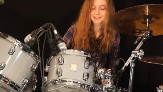 Download Waiting For A Girl Like You (Foreigner); drum cover by Sina MP3 song and Music Video