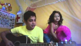 """""""Song ''Sada Tharu Mal"""" Cover Version By Myself And My Daughter"""