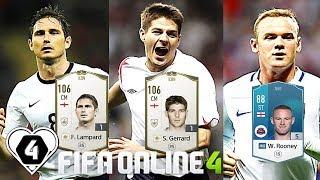 "FIFA ONLINE 4: TEST DÀN TEAM "" TAM SƯ ANH "" Vs Lampard & Gerrard ICON - ShopTayCam.com"