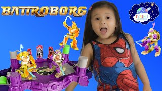 BATTROBORG Teenage Mutant Ninja Turtles Electronic Battle Game Family Game Challenge
