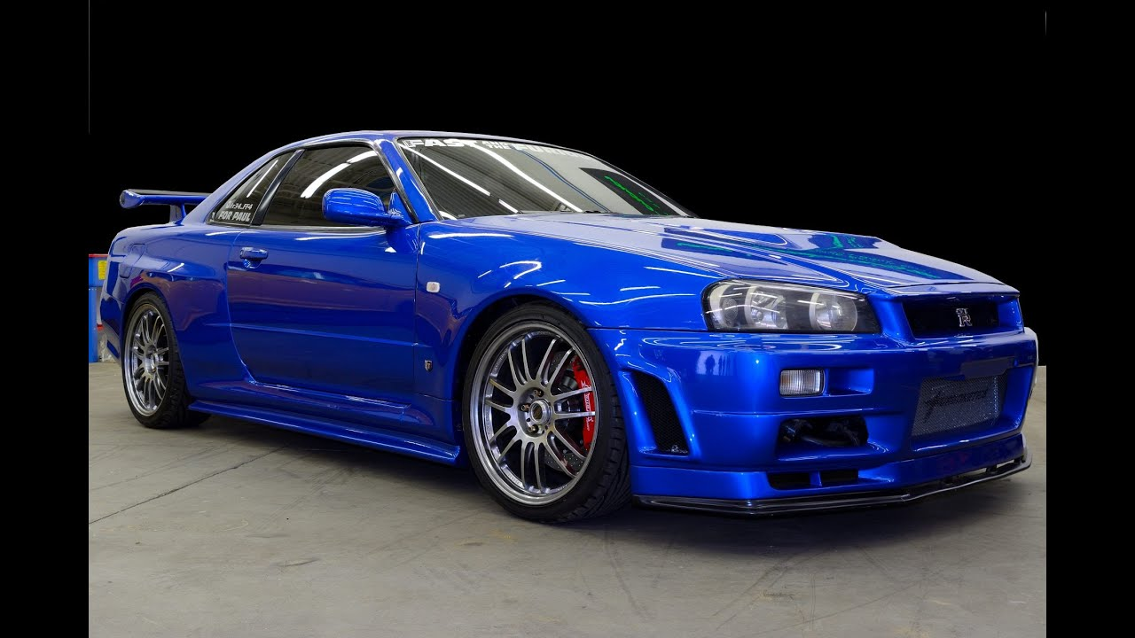 fast furious nissan skyline gt r r34 youtube. Black Bedroom Furniture Sets. Home Design Ideas