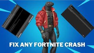 FIX ANY FORTNITE CRASH (UE4 CRASH FIXED)||All seasons