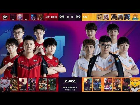 VOD: JD Gaming vs Suning - LPL Spring 2020 - Game 1