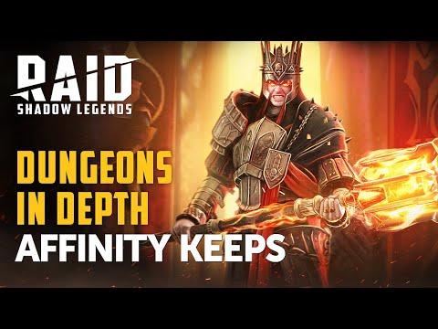 RAID: Shadow Legends | Dungeons In Depth | Affinity Keeps