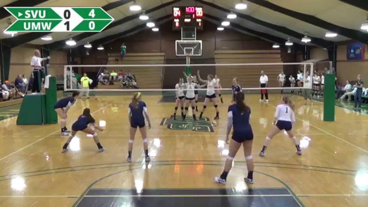 Southern Virginia University Women's Volleyball vs  Mary Washington