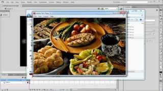 Flash CS 6 Tutorial: Loading SWF's from an External Folder into a Flash Slideshow
