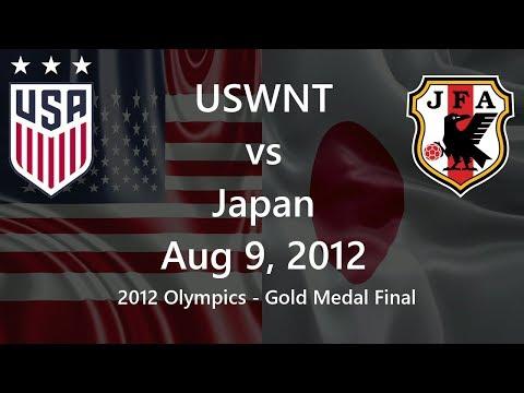 USWNT vs Japan Aug 9, 2012