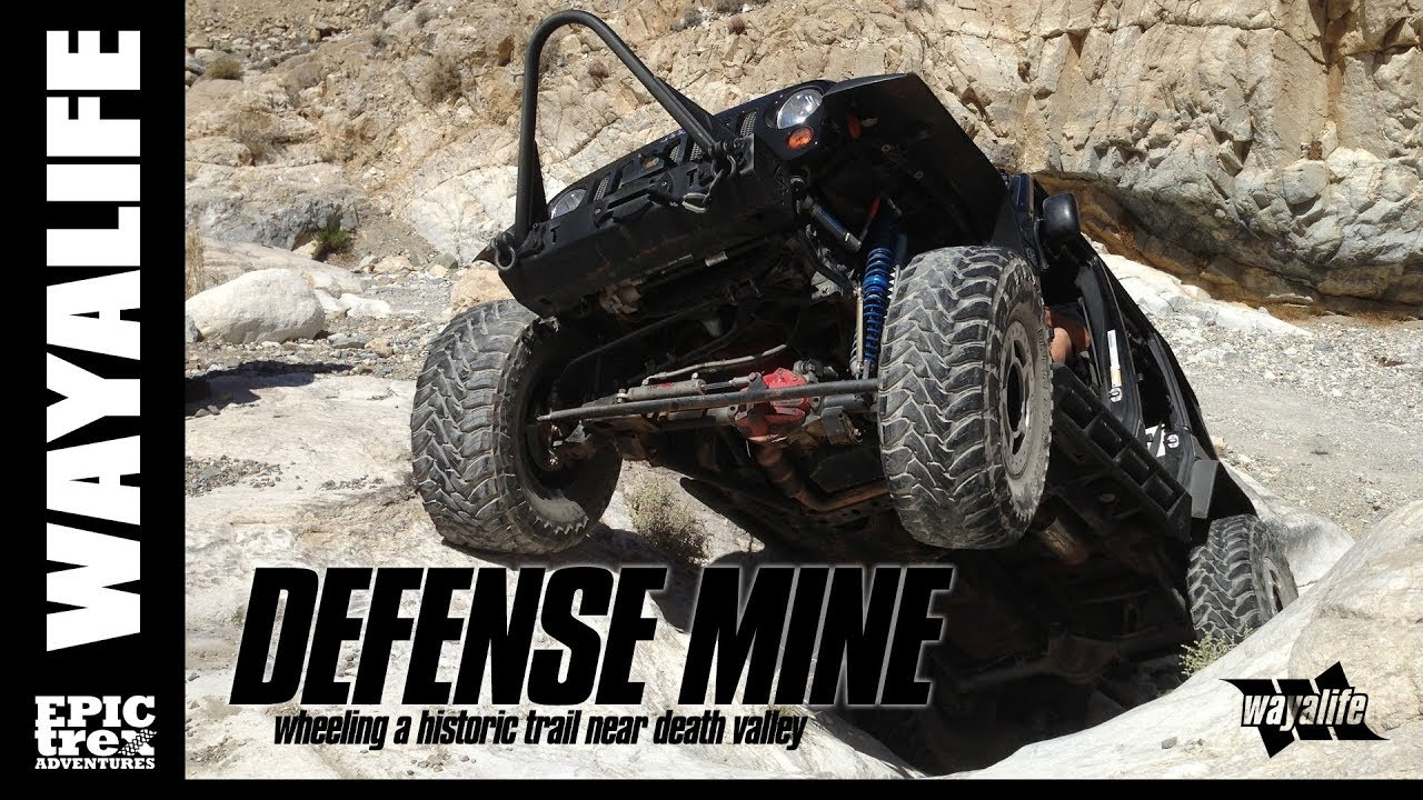 Off Roading Near Me >> Defense Mine A Historic Jeep Trail Near Death Valley Youtube