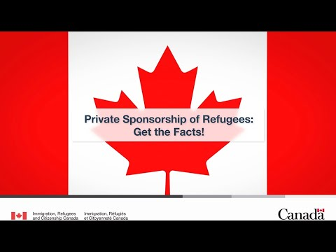 Private Sponsorship Of Refugees: Get The Facts!