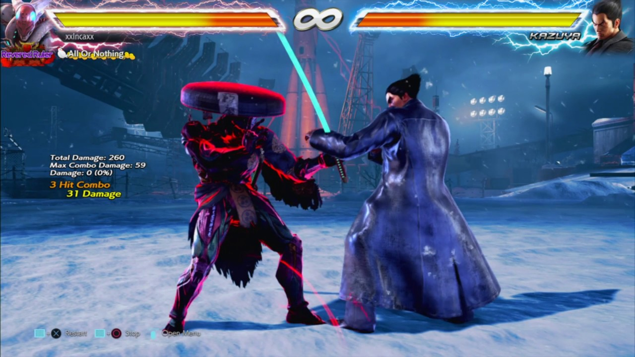 tekken 7 yoshimitsu combos ps4