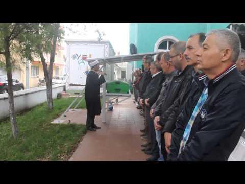 Çan'da İzzet Kızılcık Demirci Caminden Son Yolculuğuna Uğurladı.