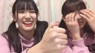 프로듀스48에 출연했던 고토 모에(後藤 萌咲)의 2018년 12월 26일자 쇼...