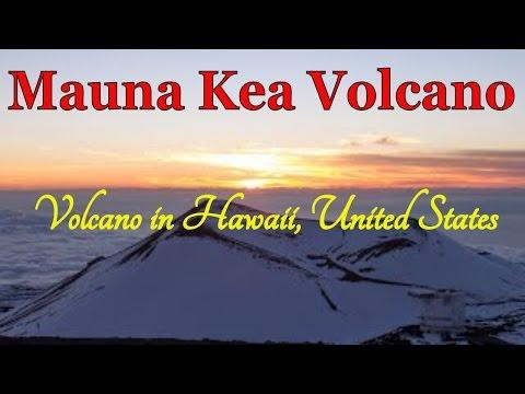 Mauna Kea Volcano, Volcano in Hawaii, United States