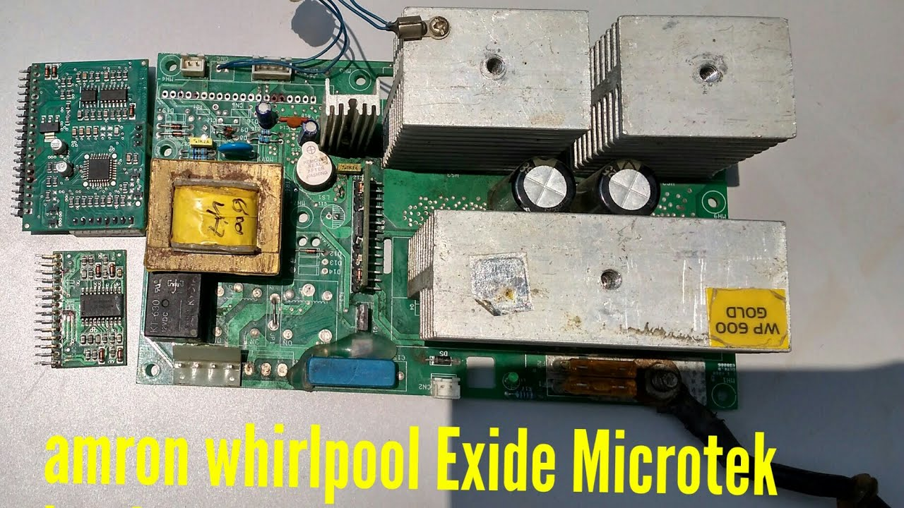How To Repair Smd Sine Wave Inverter Circuit Diagram Amaron Exide Of An Whirlpool Luminous Sukam Part 1