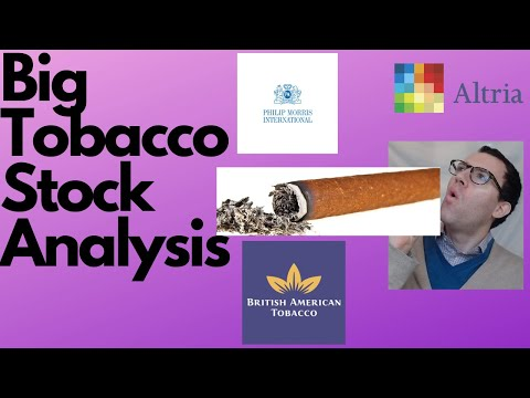Tobacco Stock Analysis - Altria Group (MO), Philip Morris (PM), British American Tobacco (BTI)