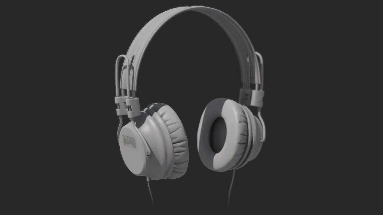 3d model headphones - youtube