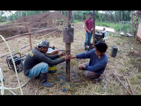 VILLA FELIZ - EPISODE 6: ARE WE DRILLING FOR OIL??? (House Building in the Philippines)