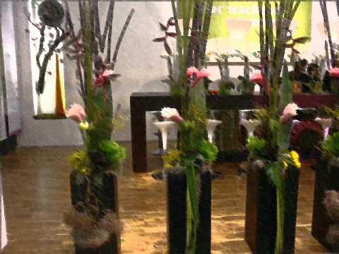 Arreglos florales para bodas danny youtube - Macetas originales para plantas ...