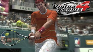 Virtua Tennis 4 Gameplay: Rafael Nadal Vs. Philipp Kohlschreiber | US Super Tennis
