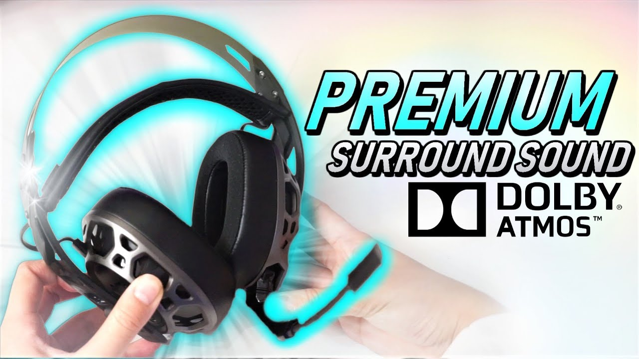 Surround Sound App: ANY HEADSET! Plantronics RIG 500 Pro Unboxing/Review  (PC, PS4, Xbox)