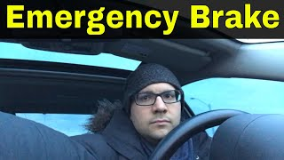 Here's What Can Happen If You Don't Use Your Emergency Brake