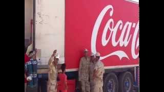 New Suez Canal: Egypt Coca-Cola Company distributes more than 10,000 workers to refill the channel