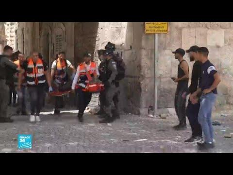 ريبورتاج - عودة على يوم من أحداث العنف بين الإسرائيليين والفلسطينيين بمدينة القدس  - نشر قبل 2 ساعة
